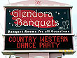 Glendora Banquets Sign